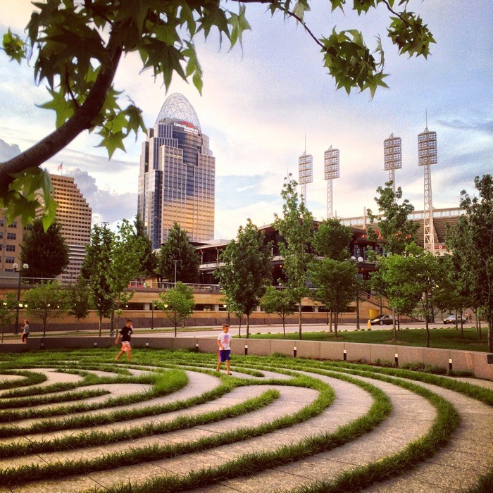 Labyrinth at Smale Riverfront Park
