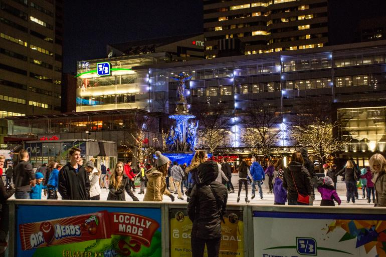 Fountain Square Ice Rink Photo #0