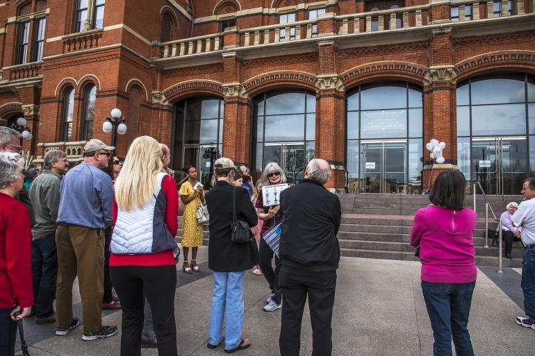 Beyond the Bricks: Outdoor Building Tour of Cincinnati Music Hall Photo #7