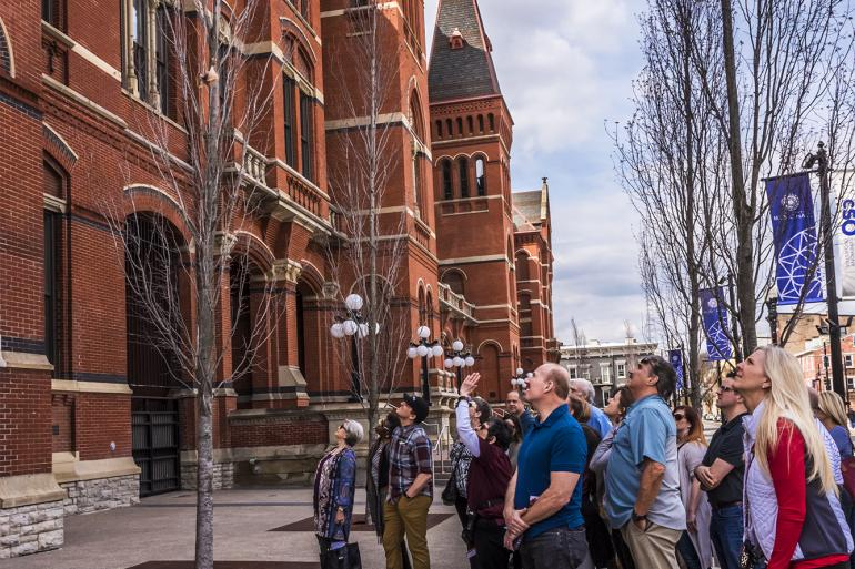 Beyond the Bricks: Outdoor Building Tour of Cincinnati Music Hall Photo #5