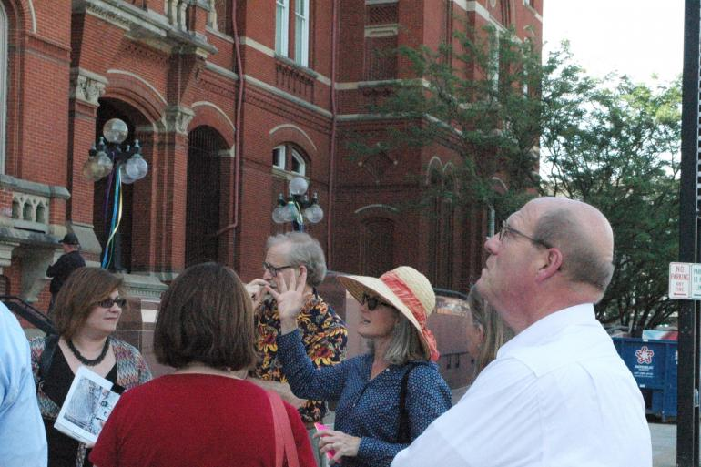 Beyond the Bricks: Outdoor Building Tour of Cincinnati Music Hall Photo #8