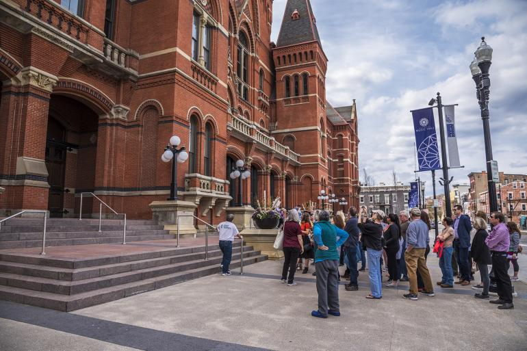 Beyond the Bricks: Outdoor Building Tour of Cincinnati Music Hall Photo #9