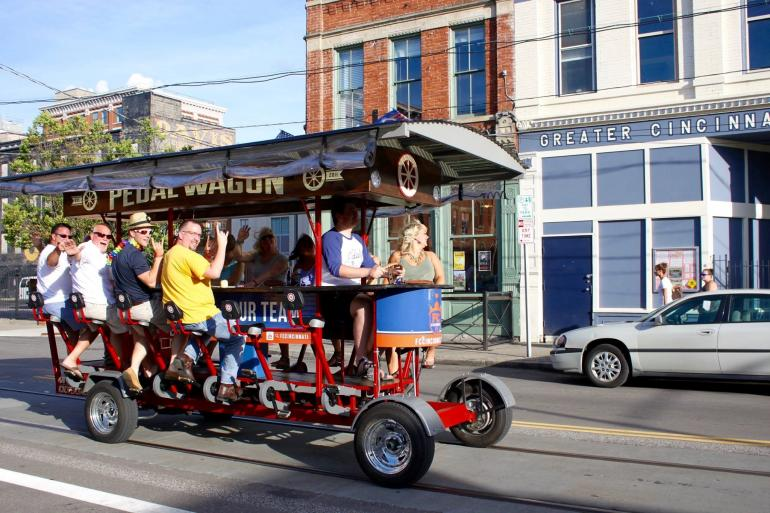 Pedal Wagon Cincinnati Photo #6