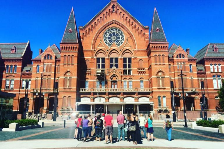 Beyond the Bricks: Outdoor Building Tour of Cincinnati Music Hall Photo #0