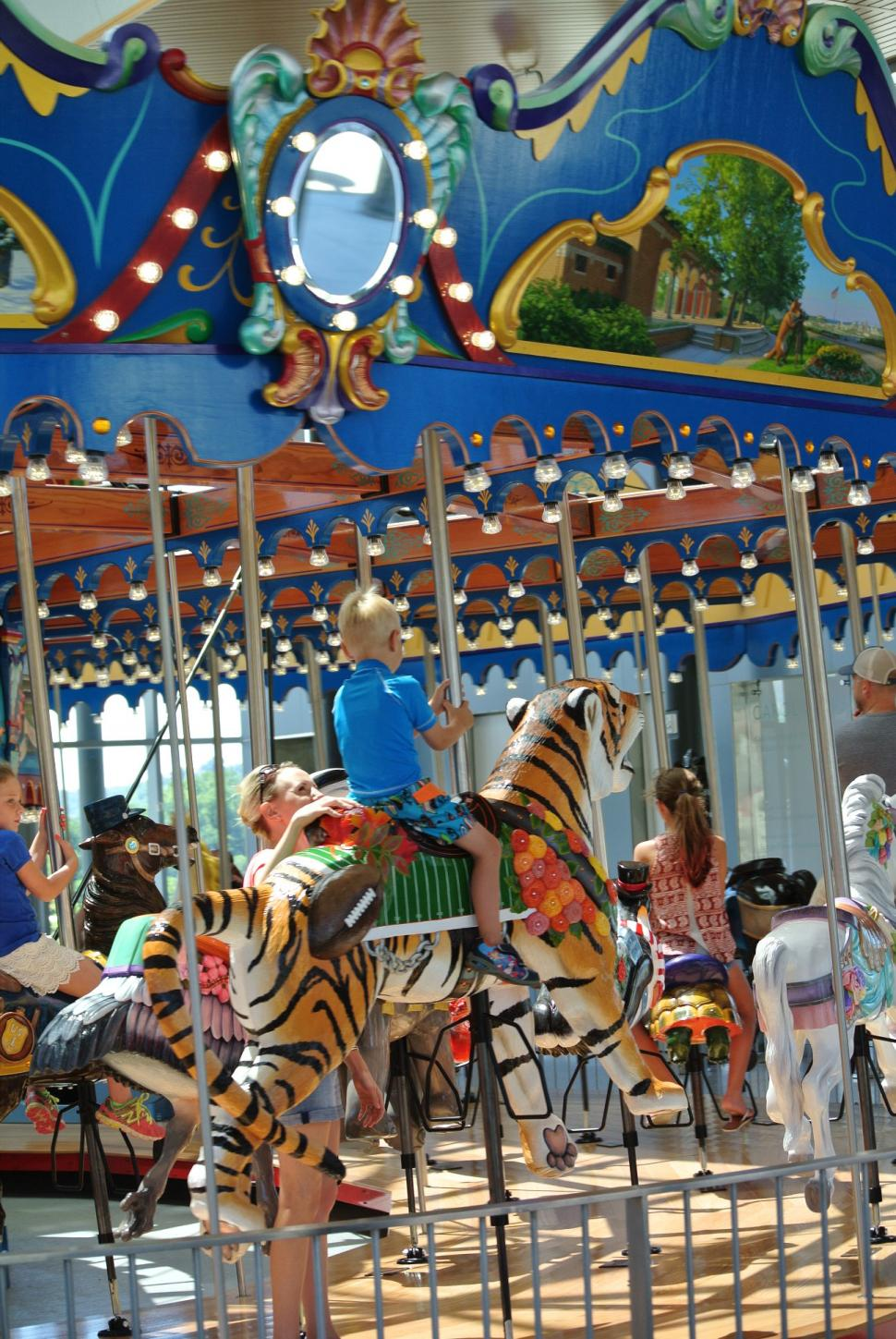 Carol Ann's Carousel at Smale Riverfront Park (photo: Laura Hoevener)