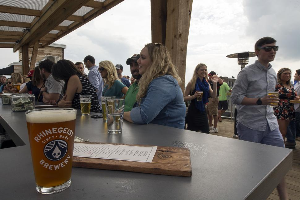 Rhinegeist rooftop bar (photo: Wendy Pramik)