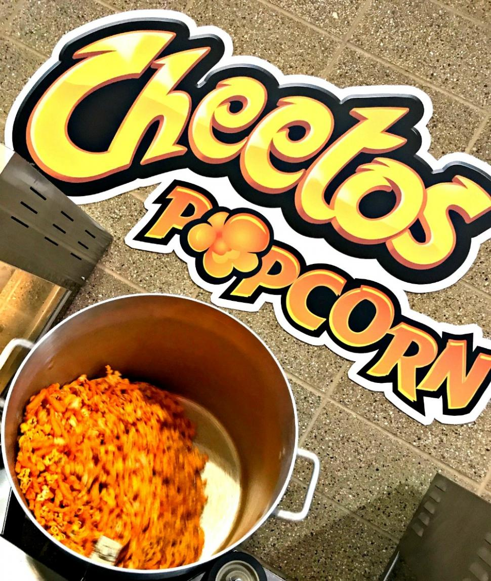 Cheetos popcorn served at Great American Ball Park (photo: Heather Johnson)