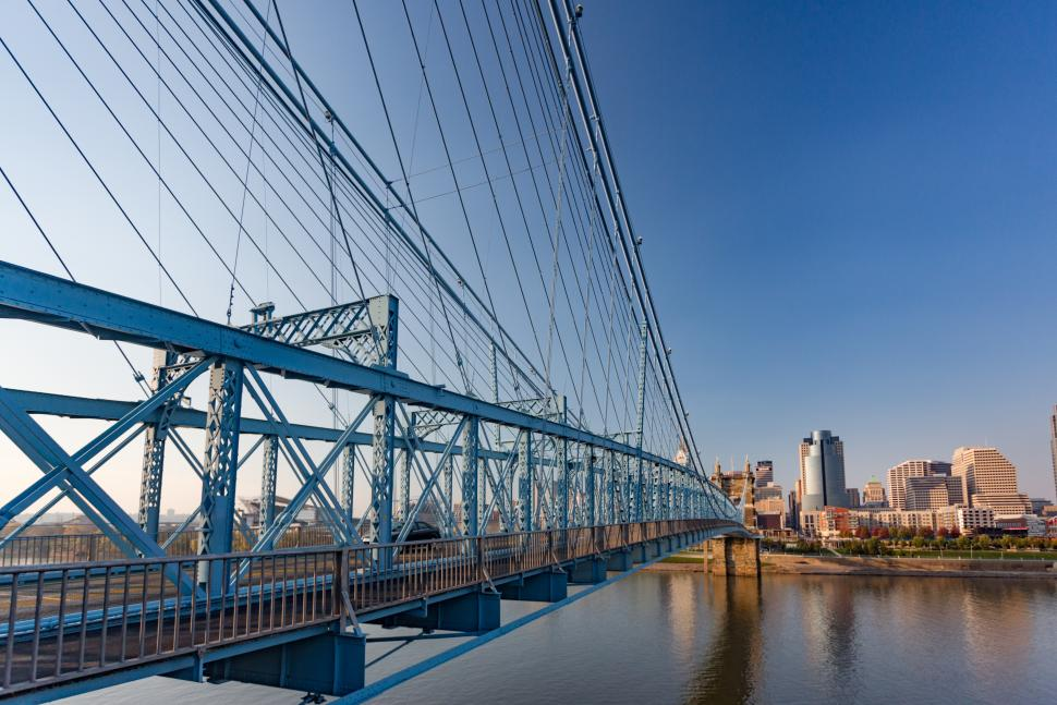 John A. Roebling Suspension Bridge (photo: CincinnatiUSA.com)