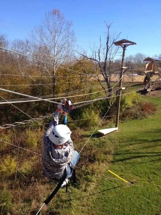 Screaming Raptor Zip Line and Canopy Adventure Tours (photo: Nedra McDaniel)