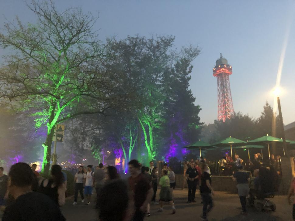Halloween Haunt at Kings Island (photo: Michael C. Potter)