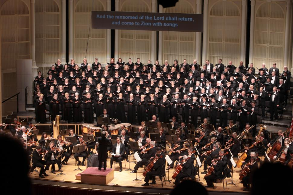 Cincinnati May Festival Chorus at Music Hall