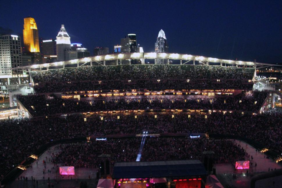 Cincinnati Music Festival, Paul Brown Stadium