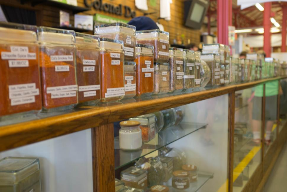 Colonel De Gourmet Herbs and Spices at Findlay Market (photo: Cincinnati Nomerati)