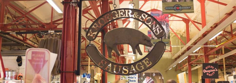 Kroeger and Sons Meats at Findlay Market (photo: Cincinnati Nomerati)
