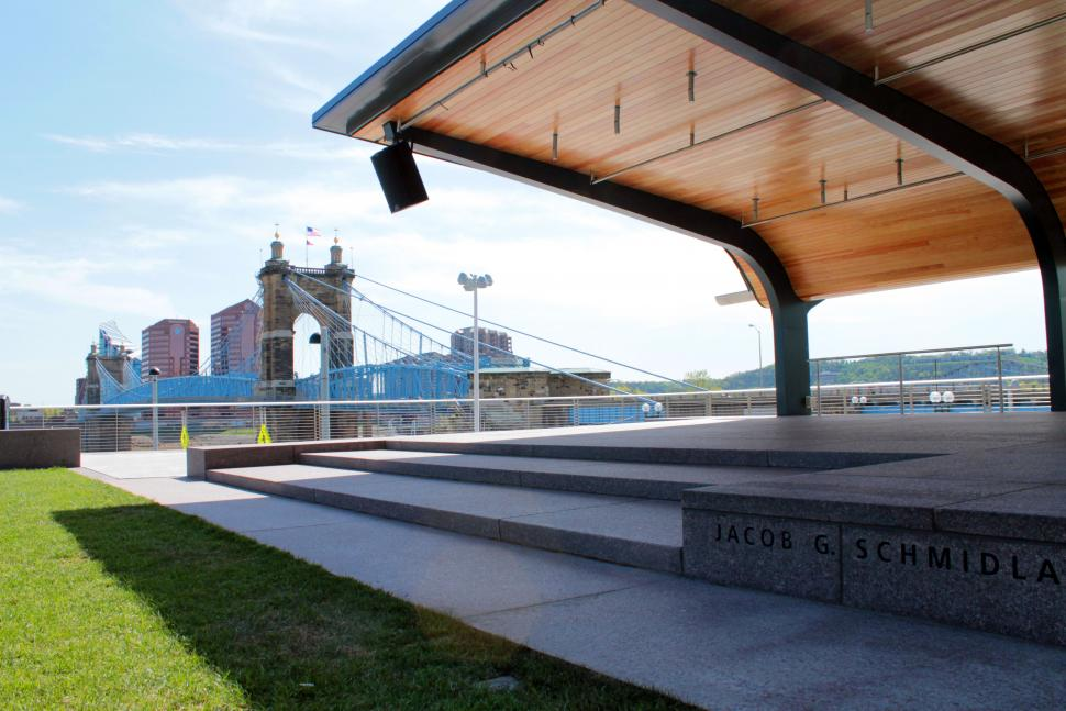 Smale Riverfront Park (photo: Cincinnati Park Board)