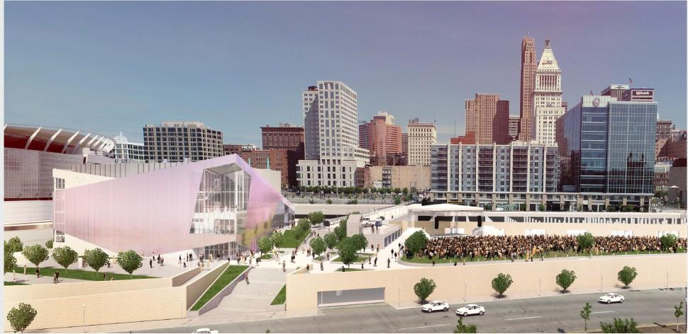 Rendering of the Andrew J. Brady Icon Music Center (photo: Provided by Music & Event Management, Inc. )