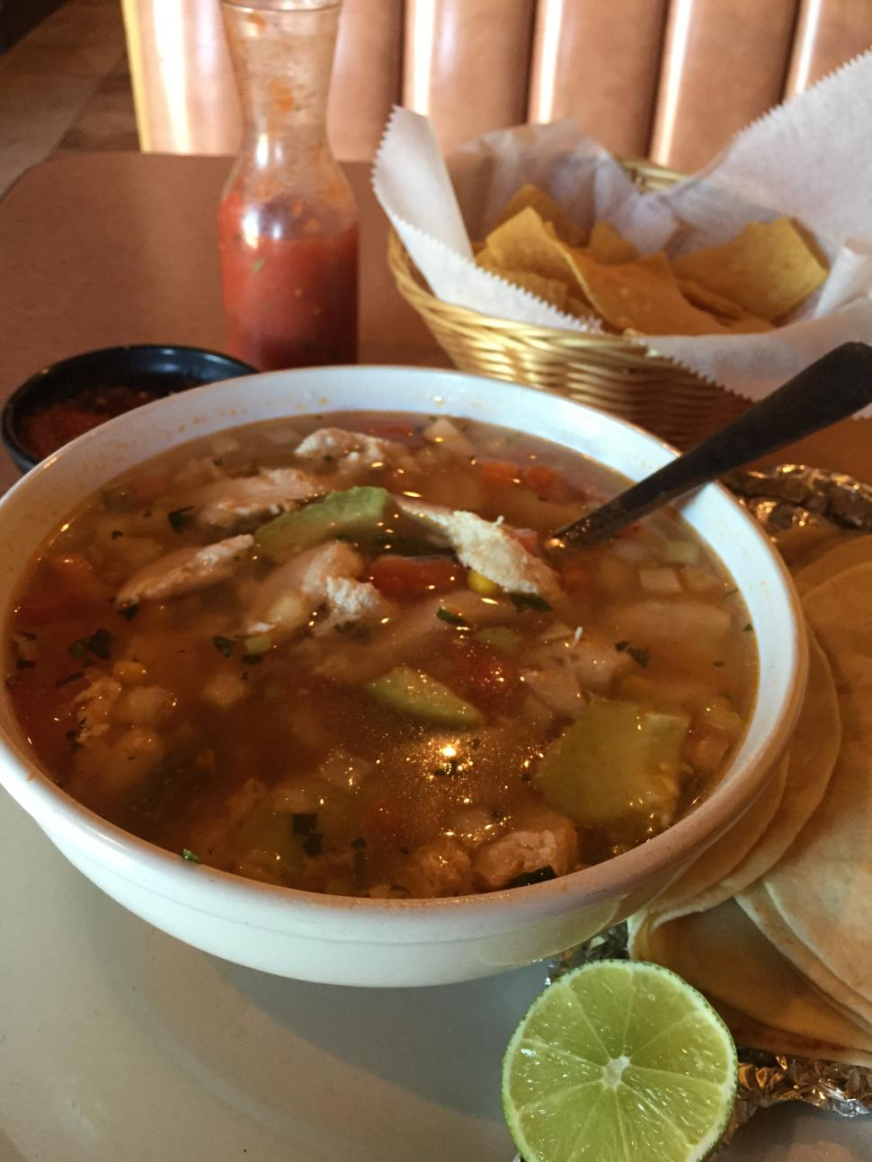 Chicken Soup from Agaves (photo: Erin Woiteshek)