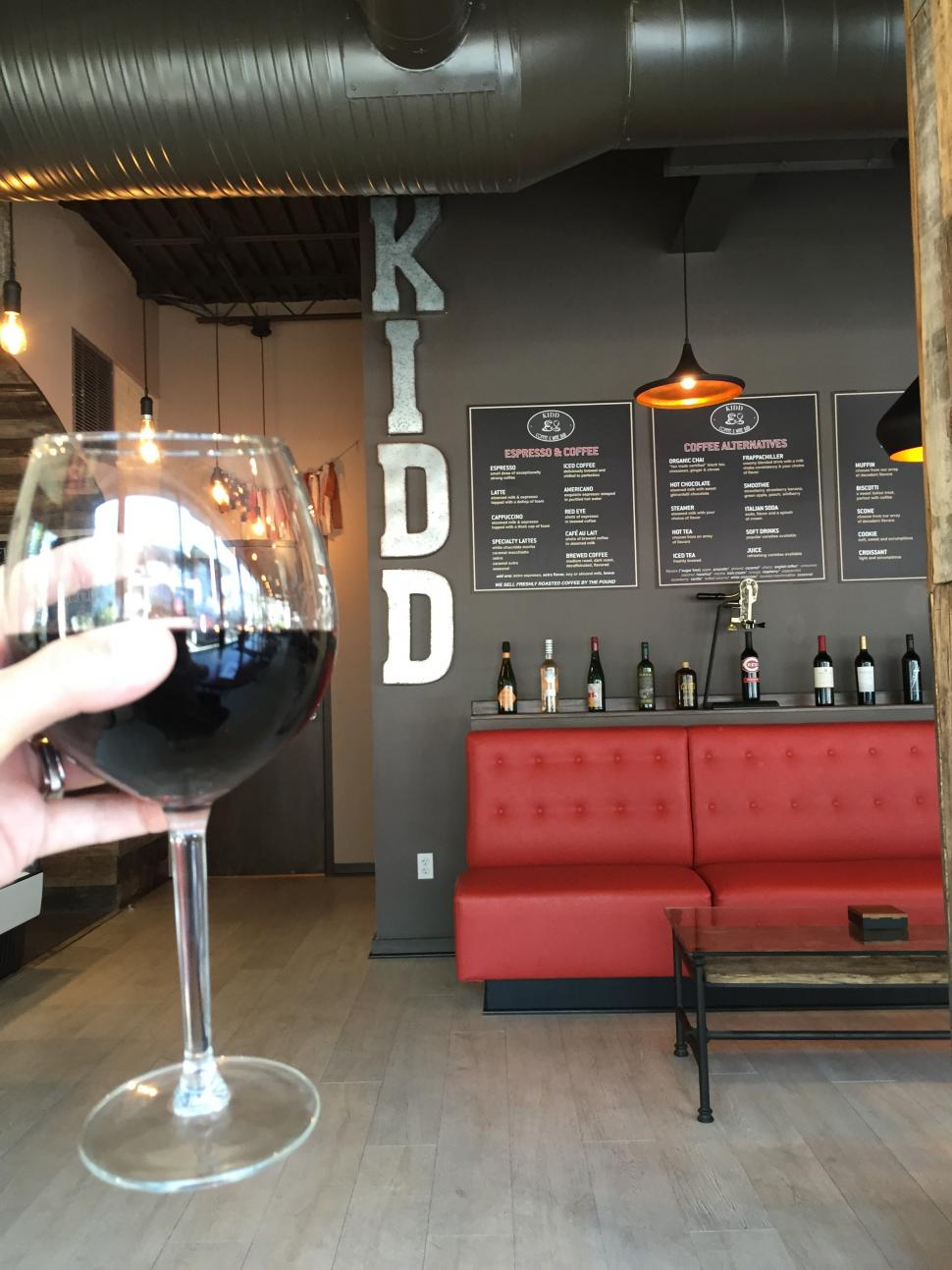 Kidd Coffee and Wine Bar (photo: Erin Woiteshek)