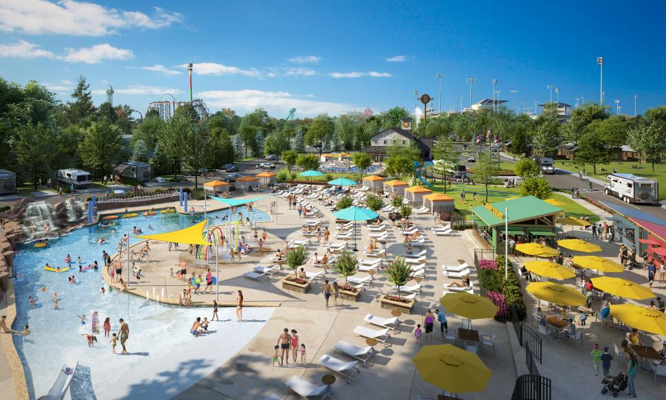 Rendering of the pool at Kings Island Camp Cedar (photo: Provided by Camp Cedar)