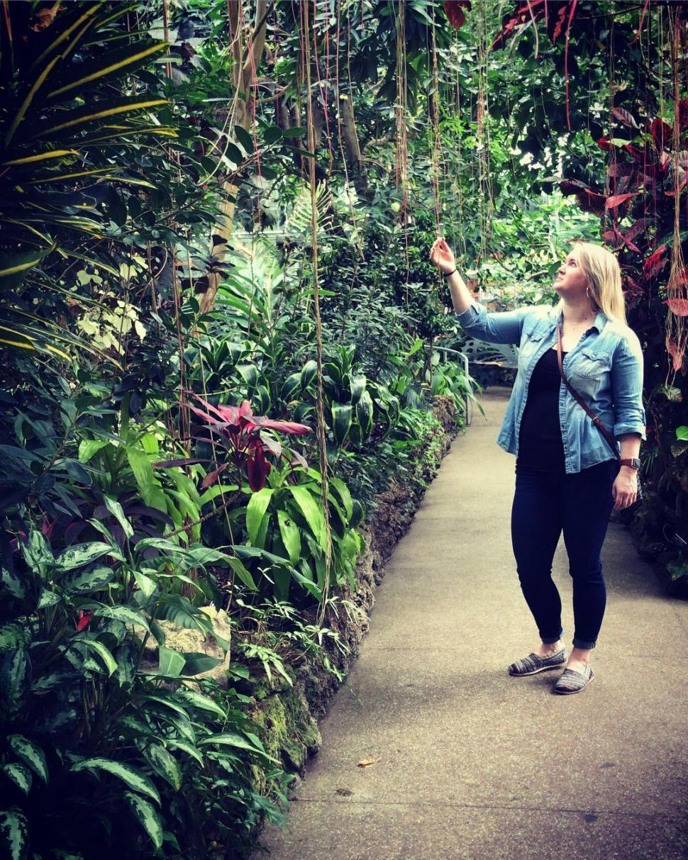 Krohn Conservatory (photo: @meaghan.needle)