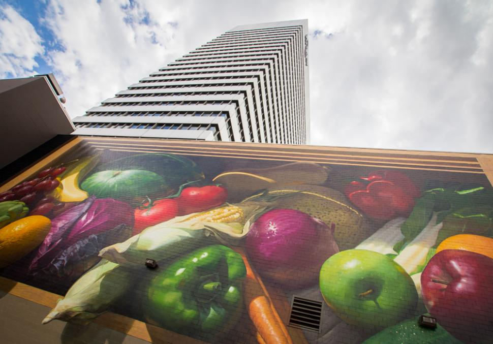 Fresh Harvest Mural (photo: Ronald M. Salerno)