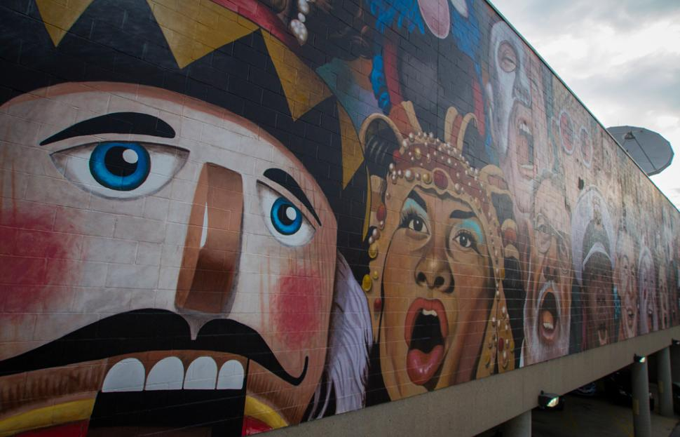 The Singing Mural (photo: Ronald M. Salerno)