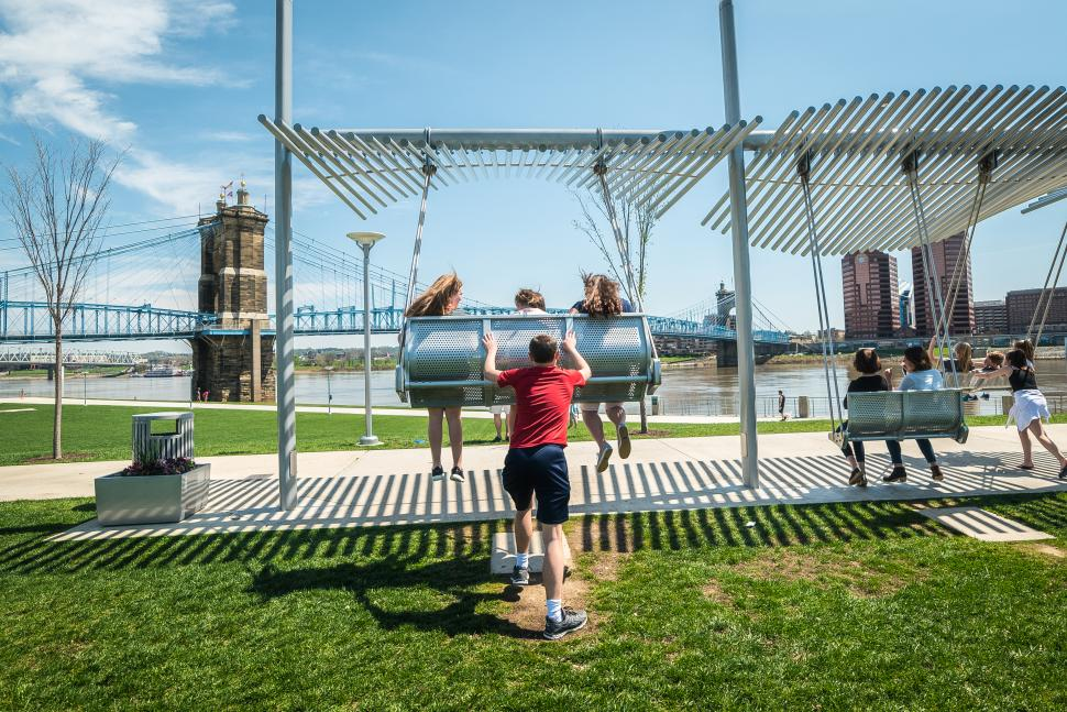 Smale Riverfront Park (photo: Louis Rideout)