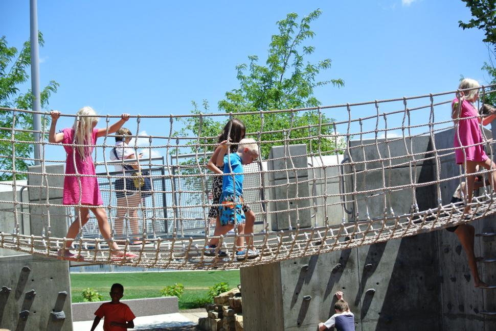 Smale Riverfront Park Playground Photo Laura Hoevener