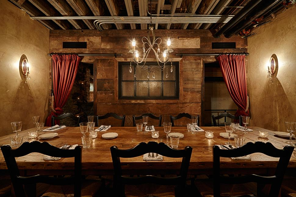 Private dining room at Sotto (photo: Sotto)