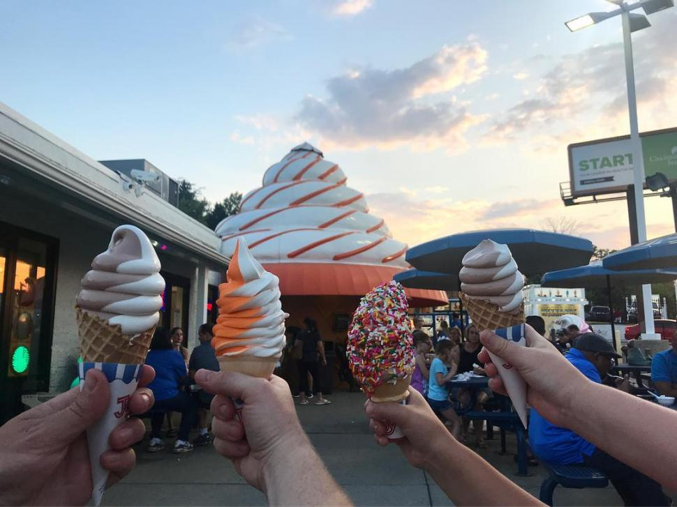 The Cone (photo: @mrsbfastwnick)