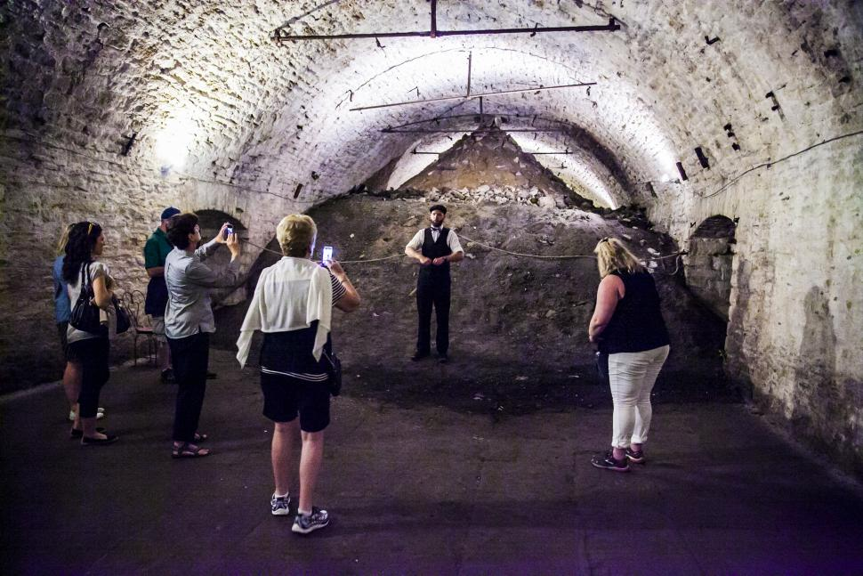 Queen City Underground Tour (photo: Dan Ledbetter Photography)