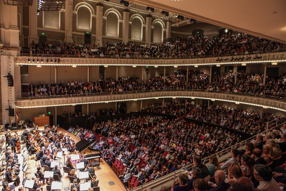 Cincinnati Symphony Orchestra, Music Hall (photo: Cincinnati Symphony Orchestra)