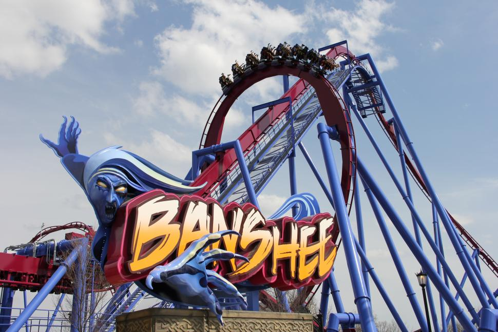 Kings Island - Banshee (photo: Kings Island)