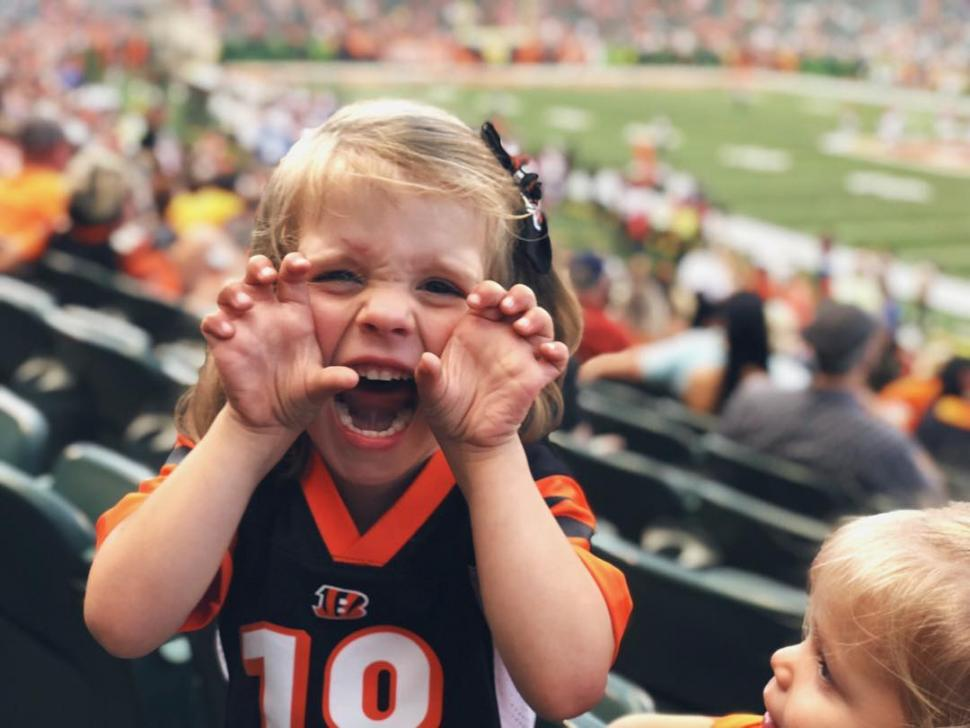 Cincinnati Bengals fan (photo: @rubyandfrances)