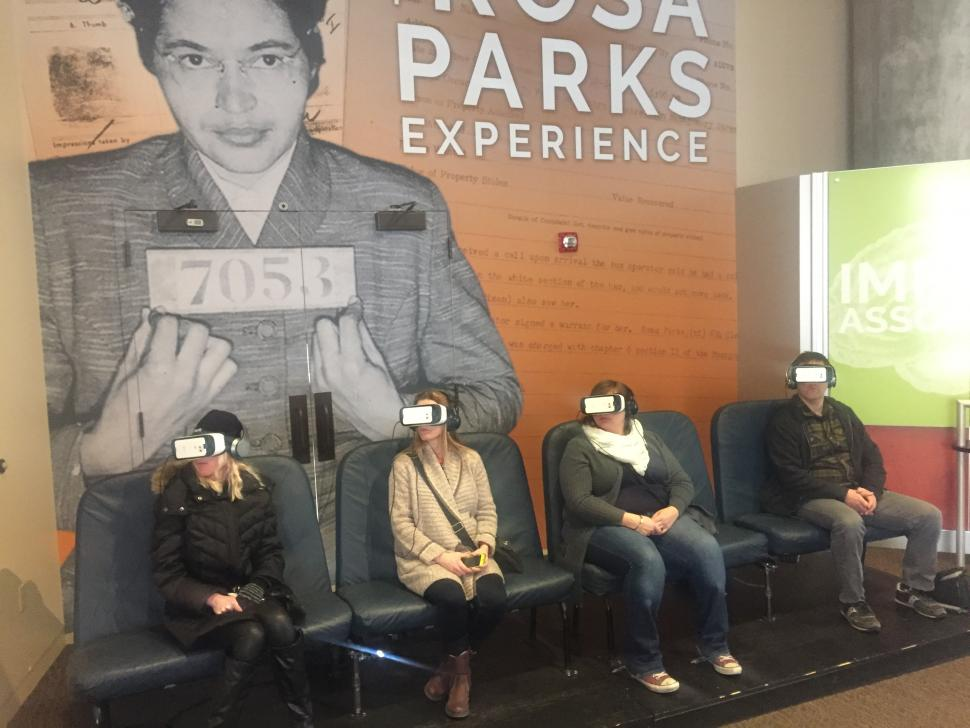 Rosa Parks Experience at National Underground Railroad Freedom Center
