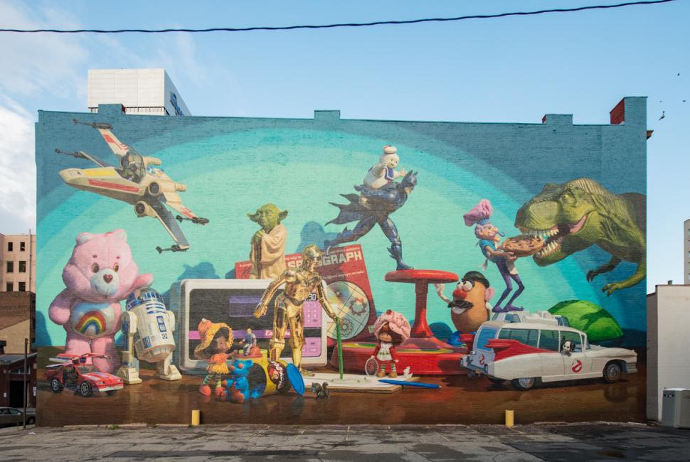 Toy Heritage Mural (photo: J. Miles Wolf)