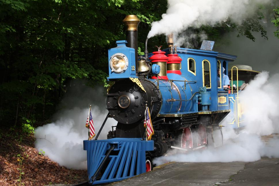 Kings Island, Miami Valley Railroad