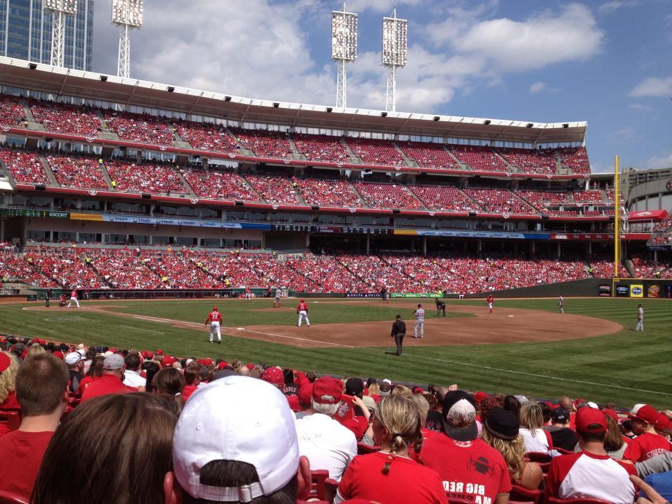 Cincinnati Reds at Great American Ball Park (photo: Regional Tourism Network)