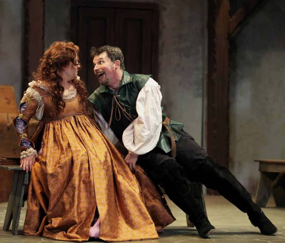 Taming of the Shrew at Cincinnati Shakespeare Company (photo: Cincinnati Shakespeare Company)