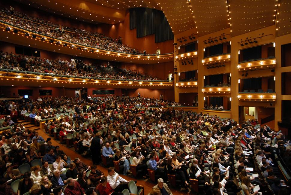 Aronoff Center for the Arts, Procter and Gamble Hall (photo: Cincinnati Arts Association)