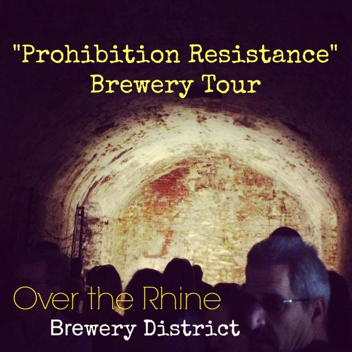 Prohibition Resistance Brewery Tour