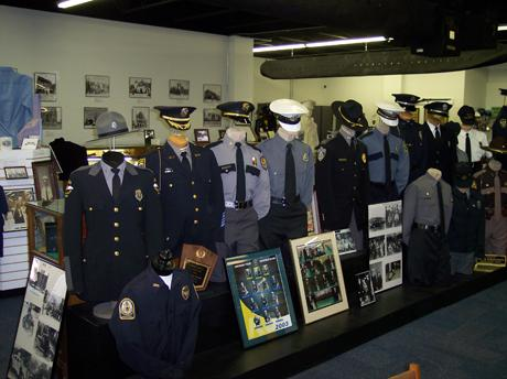 Police Uniforms at Greater Cincinnati Police Museum (photo: Laura Hoevener)
