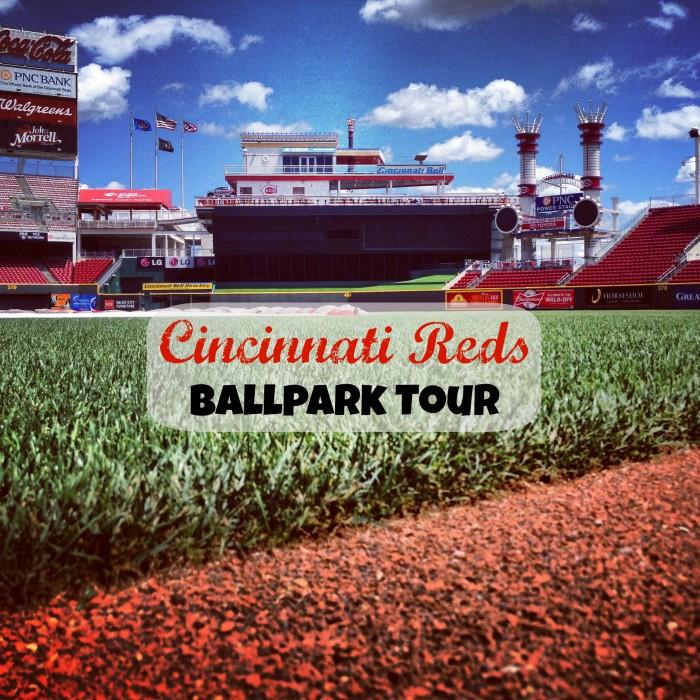 Cincinnati Reds Ball Park Tour