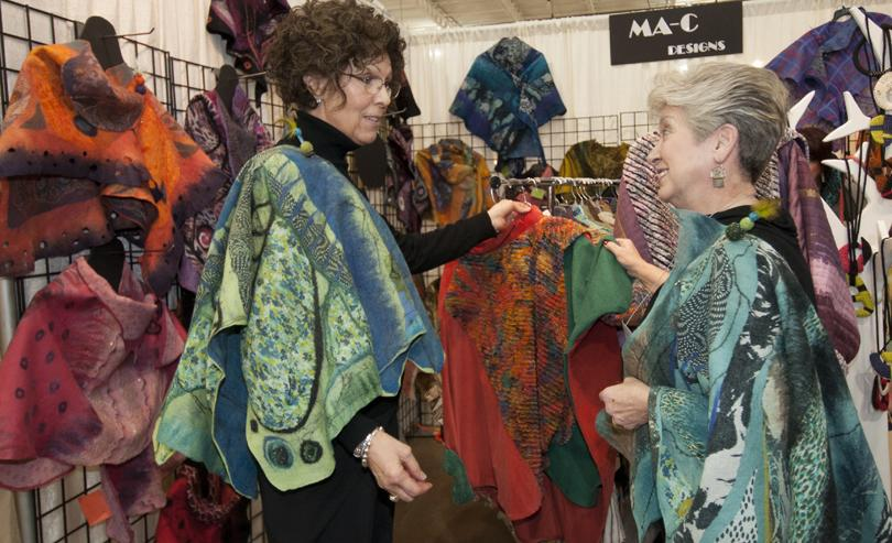 Women shopping at Greater Cincinnati Winterfair (photo: Submitted)