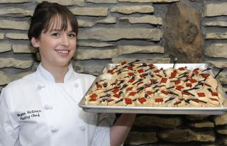Megan Ketover, pastry chef at Orchids at Palm Court
