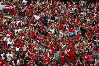 Reds fans, Great American Ball Park
