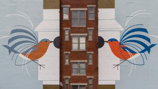 Homecoming (Blue Birds) - Art Works Mural
