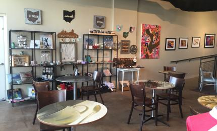 Redtree Art Gallery and Coffee Shop (photo: Erin Woiteshek)