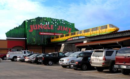 Monorail at Jungle Jim's in Eastgate (photo: Jungle Jim's)