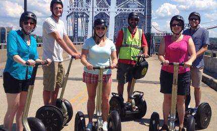 Segway of Cincinnati, Riverfront Tour (photo: CincinnatiUSA.com)